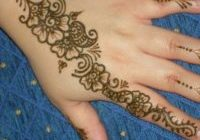 henna workshop at elsham